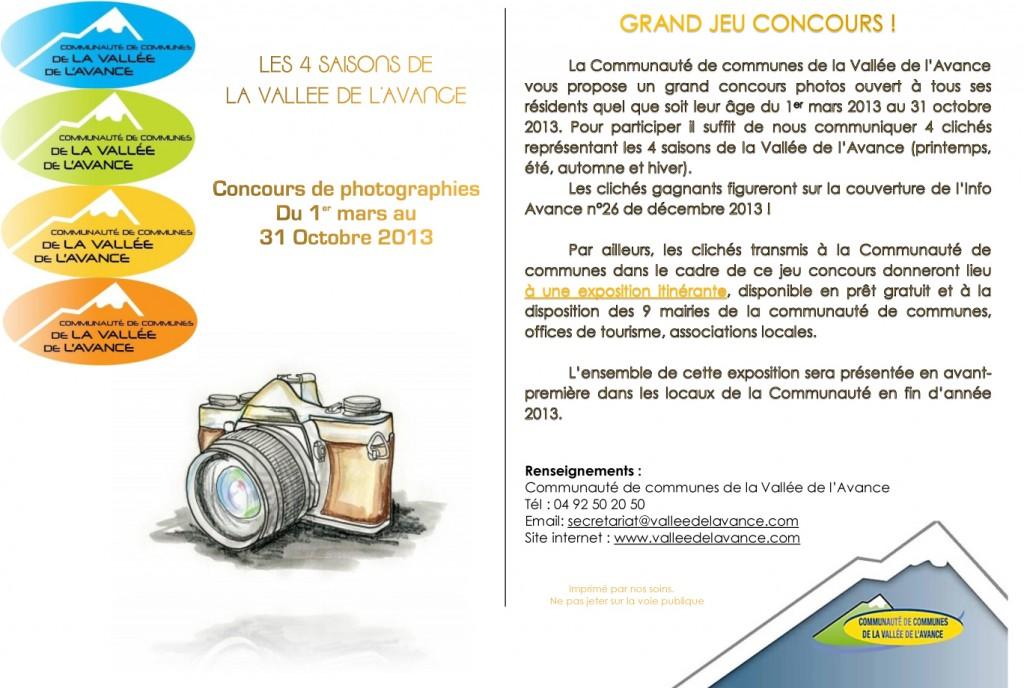 Concours Photos... Vallée de l'Avance ! dans Les infos affiche-concours-photos